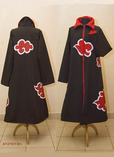 Косплейный костюм Наруто Акацуки_01